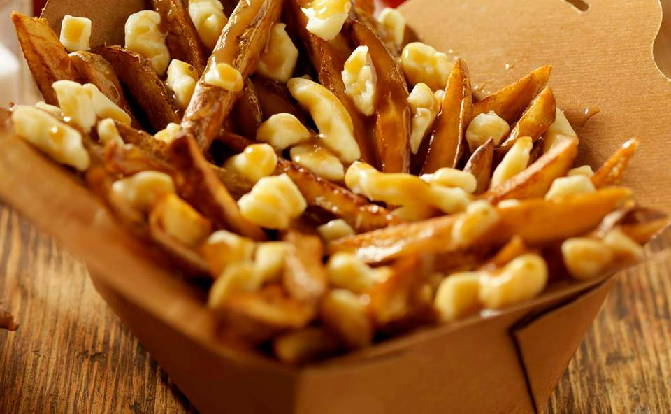 Poutine traditionnelle